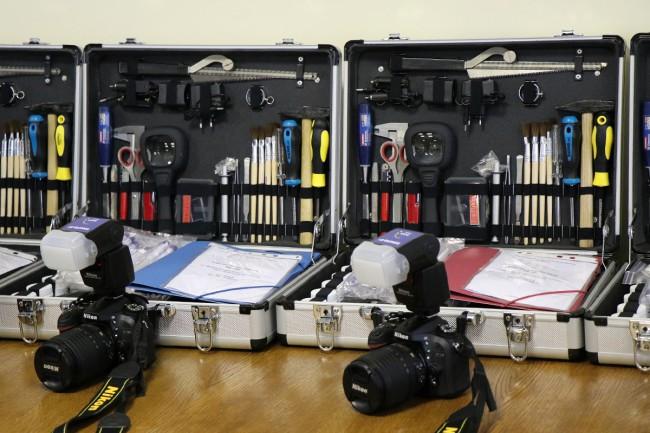 Zakarpattia and Lviv region forensic experts receive ...