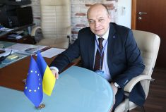 EUAM Head of Mission, Kestutis Lancinskas